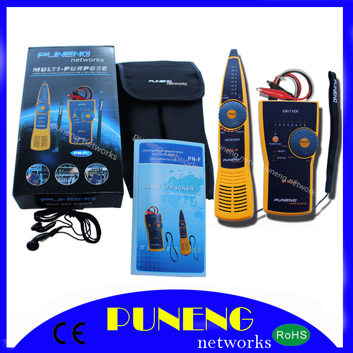 PN-F-C PUNENG TELEPHONE NETWORK WIRE LAN CABLE TRACKER LINE TESTER RJ11 RJ45(China (Mainland))