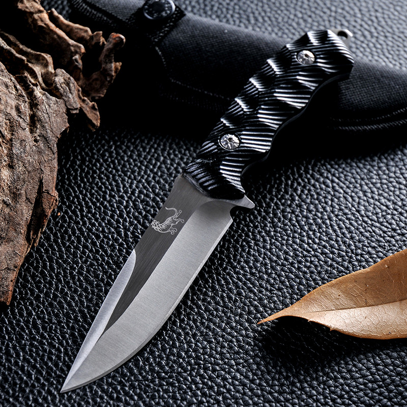 Buy New Style Fixed Blade Hunting Knife Cold Steel Facas D2 Navajas Zakmes Multi Tool Outdoor Survival Tactical Camping Knife cheap