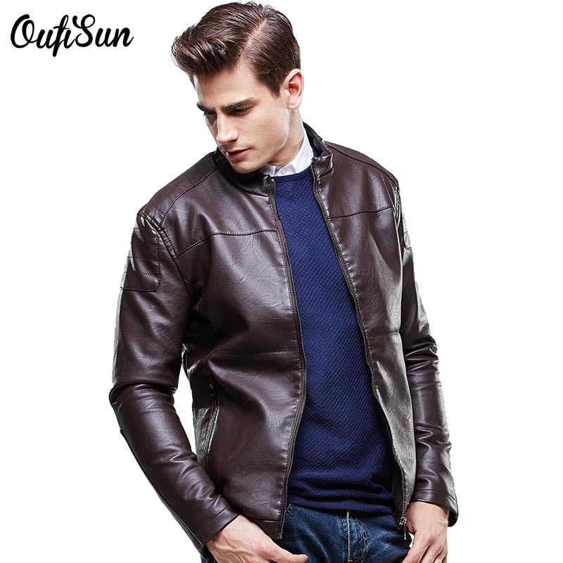 Compare Prices on Brown Faux Leather Bomber Jacket- Online ...