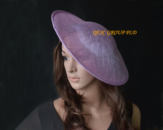 LILAC Purple sinamay base for sinamay fascinator hat for kentucky derby,wedding,Melbourne Cup.(China (Mainland))
