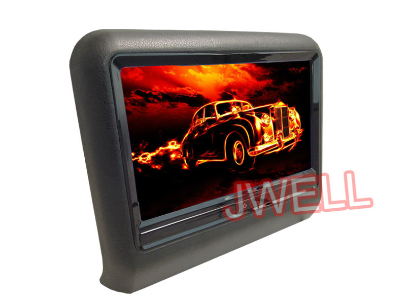 HOT 9 inch touch headrest DVD player ,LCD digital screen with MP3 MP4,USB SD 3color(China (Mainland))