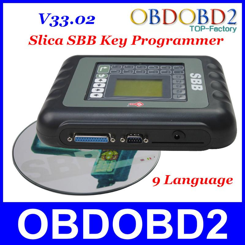 New Released V33.02 SBB Supports Multi-Language Slica SBB Car Key Programmer Silca Immobizer For Multi-Brand Cars SBB Programmer(China (Mainland))