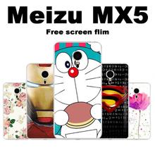 Meizu mx5 case cover plastic Cartoon style cover case for Meizu mx5 plastic case cover Great Hard PC Meizu mx5 phone case