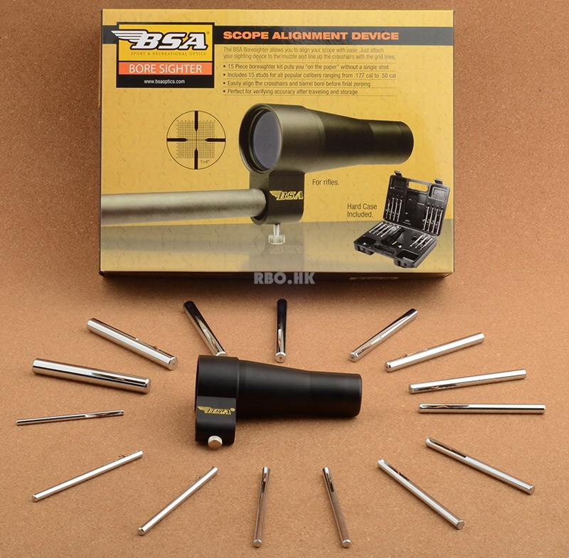 BSA Boresighter All cal 177 50 Bore Sighter BS30 Tactical Hunting Shooting Free Shipping R3253