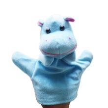 1 Pc Kids Toy Farm Animal Hand Glove Puppet Finger Sack Hand Dolls Plush for Baby Child #9869(China (Mainland))