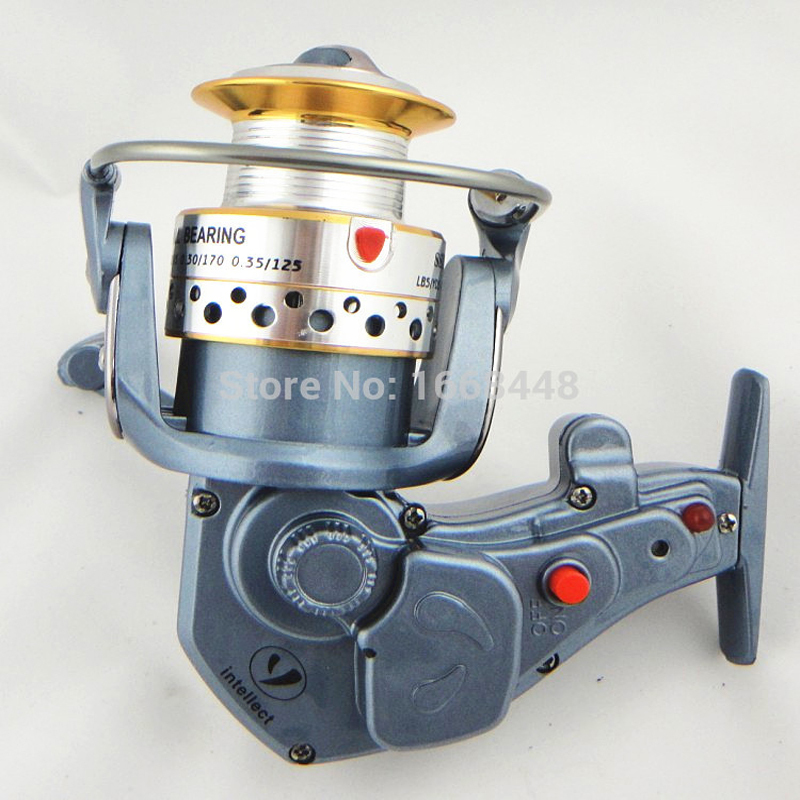 Fishing reel peche electric spinning reel high power for Electric fishing rod
