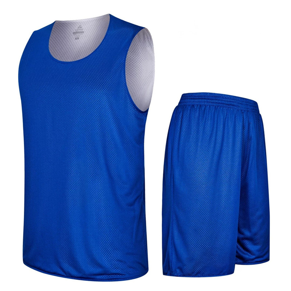 2017 Adult Men Reversible Basketball Jersey Sets Uniforms kits Sports clothes Double-sided basketball jerseys suits Customized(China (Mainland))