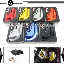 Motorcycle CNC Aluminum Engine Protector Cover For Kawasaki Z800 2013 2014 2015 7 Colors For Option