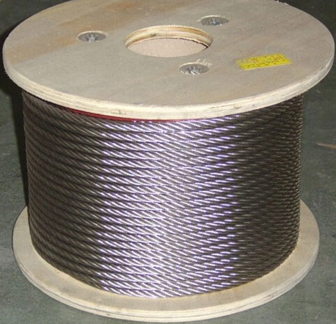 Free Shipping Wholesales 10M/Roll High Tensile 2MM Diameter AISI 316 Stainless Steel Wire Rope 7X7 Structure Cable(China (Mainland))