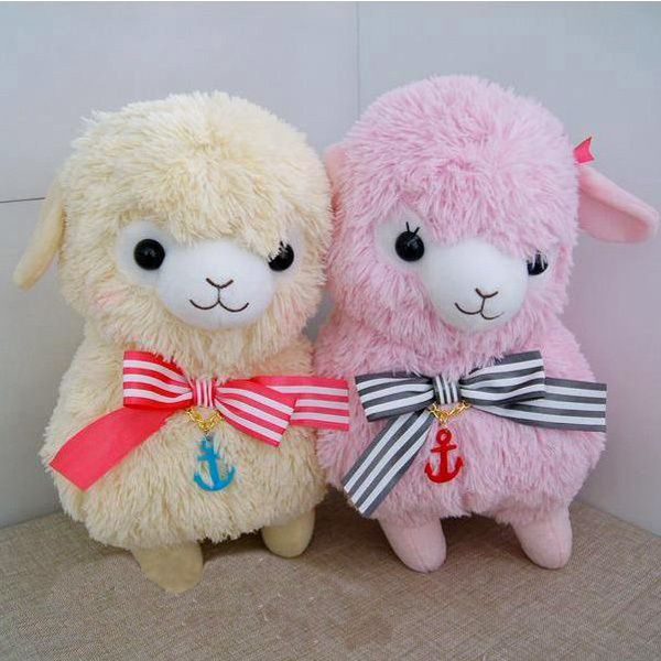 2015 Kids Sailor Cute Plushies Alpaca Soft Toys Giant Stuffed Animals Llama Plushies Alpaca Alapcasso Baby Doll Birthday Gift(China (Mainland))