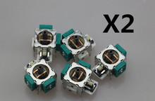 10pcs Replacement ALPS New Original Genuine 3D Analog Sixaxis Rocker Joystick Module For PS2 / XBOX360 Controller