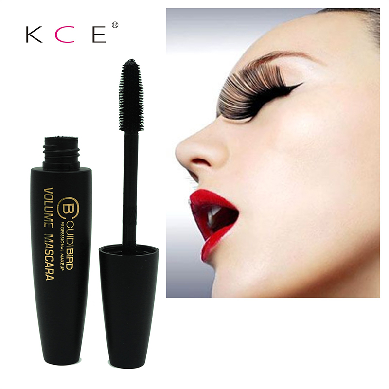 Fashion 3d Fiber Lashes New Black Eye Mascara New Long Eyelash Silicone Brush Curving Lengthening Mascara Waterproof Makeup(China (Mainland))
