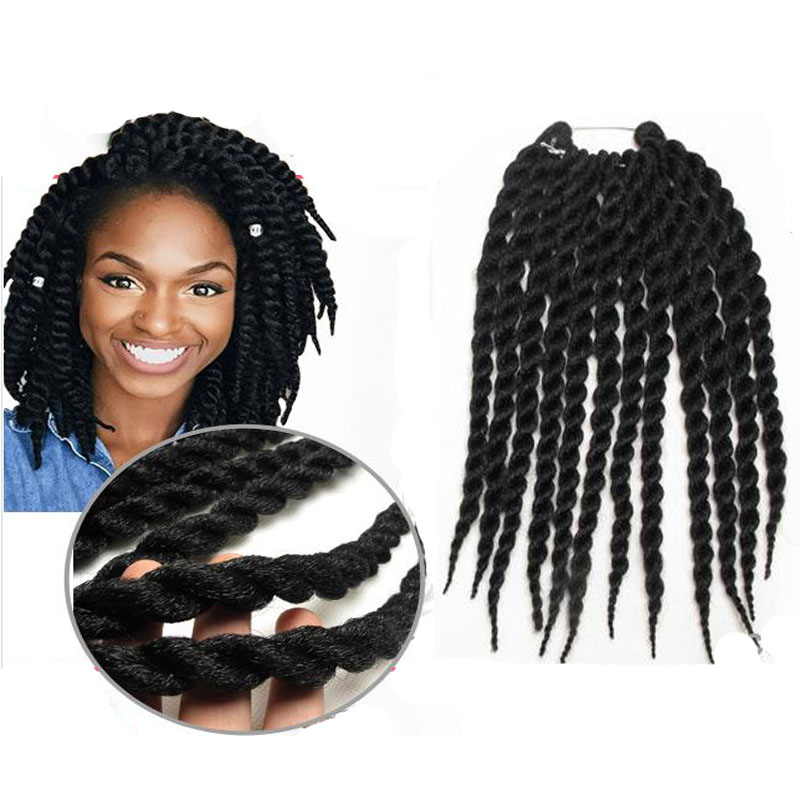 Twist Crochet Braids Hair Synthetic blue black purple crochet braids ...