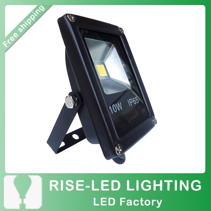 10W waterproof LED flood light,IP65 Floodlight Spotlight Outdoor Lighting AC85-265V warm/cool withe Free shipping(China (Mainland))