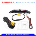 Car Camera Car Camera Reversing HD CCD US License Plate Rear View Camera Backup Parcking Alarm