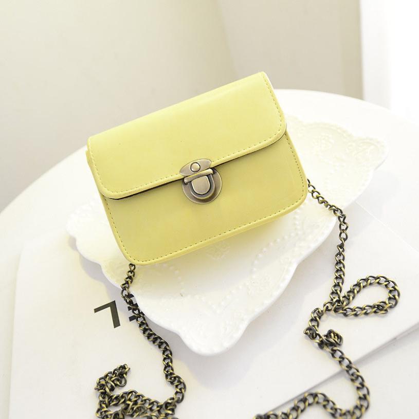 Женские маленькие сумки через плечо на цепочке или ремне