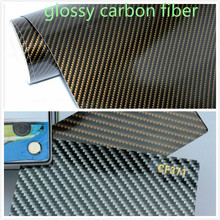 Buy 400mm x 1520mm Car Styling Carbon Fiber 2D Glossy Carbon Fiber Vinyl Film Auto Wrapping Vinyl Wrap Foil Car Sticker Color Change for $8.76 in AliExpress store