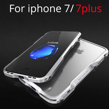 Buy Metal Bumper Apple iPhone 7 Case Cover Aluminum Luxury Frame iPhone 7 Plus Cases Shockproof iphone7 7PLUS Never Fade for $12.20 in AliExpress store