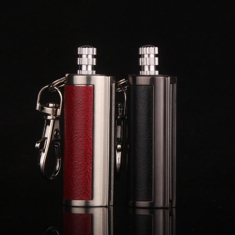 Portable mini small Creative pendant type kerosene gasoline lighter Outdoor waterproof type match(China (Mainland))