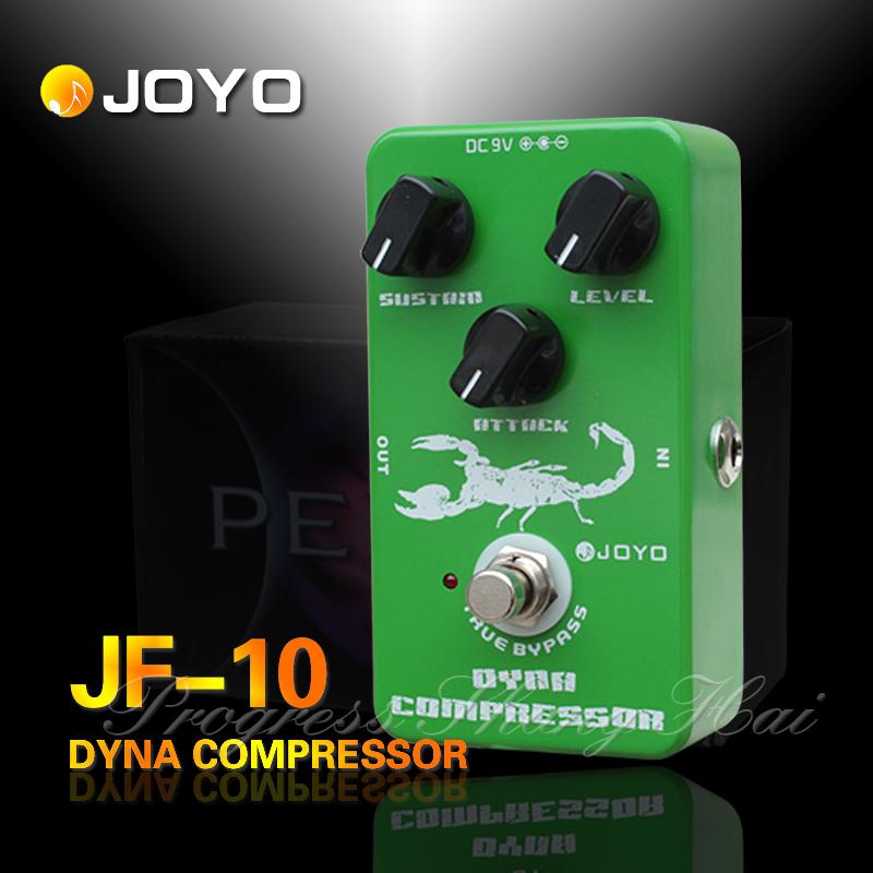 JOYO JF-10 Dynamic Compressor Blasting compressed electric guitar pedal