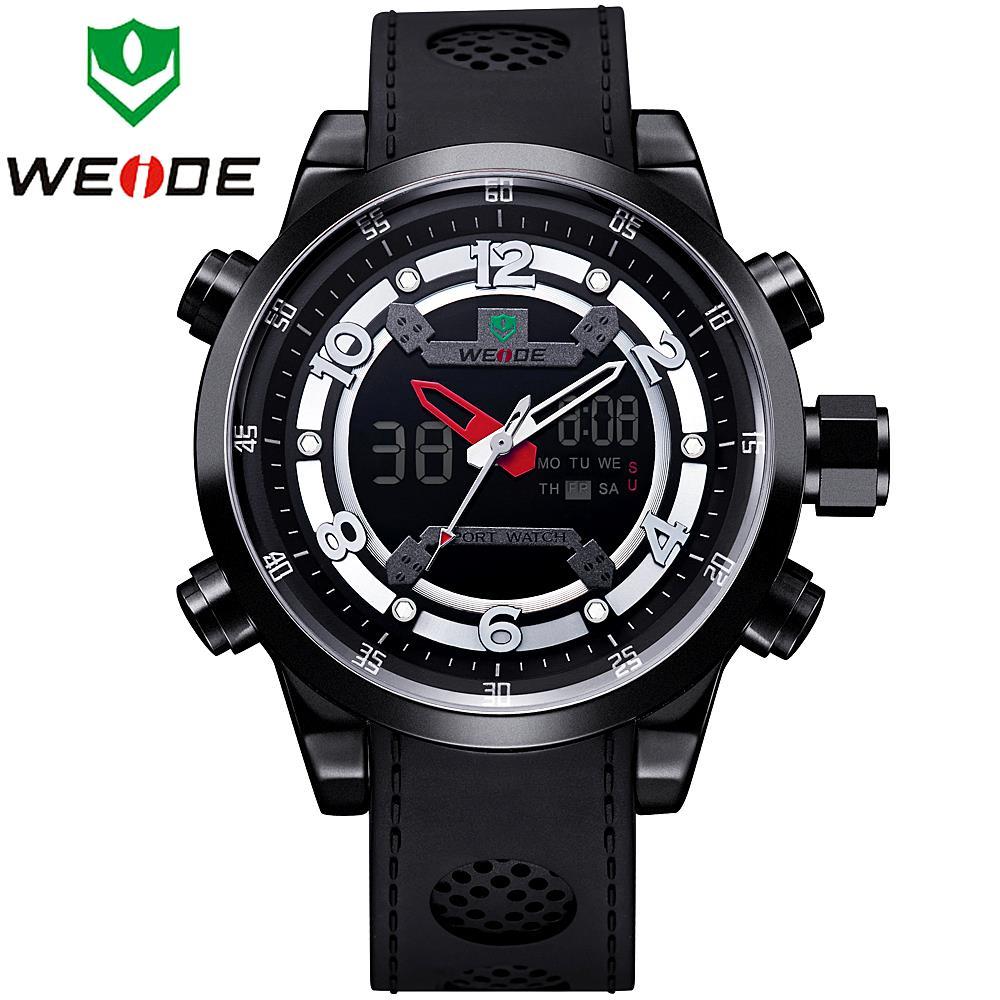 Watches men WEIDE luxury brand Digital LED reloj hombre Army Military Sport wristwatch oversize relogio masculino 3315(China (Mainland))