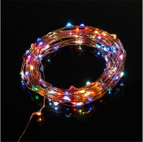 Led String Starry Lights 10m 100 LEDs Copper Wire Fairy Lights for indoor and Outdoor,Gardens,Homes,Christmas,Party,Wedding(China (Mainland))
