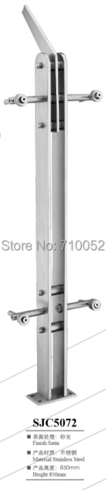 SJC5072 stair armrest 201 stainless steel guardrail railing brushed solid small cross-bars steel wire<br><br>Aliexpress