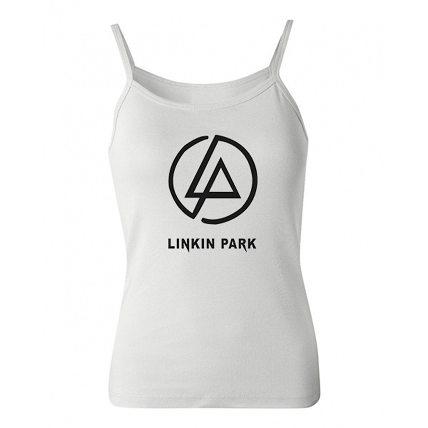 Customized Linkin Park Women Tank Tops Cotton Lady Tank Tops High Quality Summer Women Vests Free Shipping(China (Mainland))