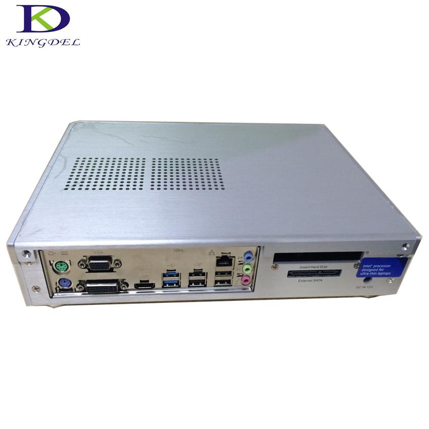 Full metal case mini computer Intel Celeron G3900 CPU 2.80 GHz desktop DDR4 RAM HDMI DVI VGA port HTPC(Hong Kong)
