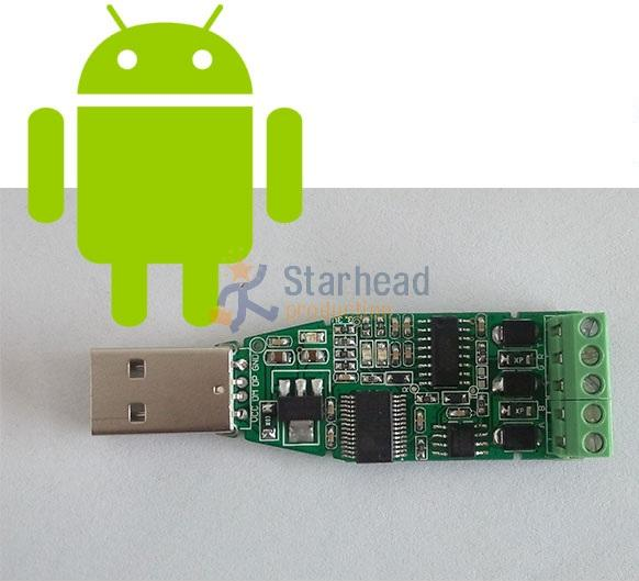 USB to RS232 RS485 5-pins Converter Adapter for Win7 Andriod Linux Mobile Phone to STC STM32, Free Codes and OTG Cable(China (Mainland))