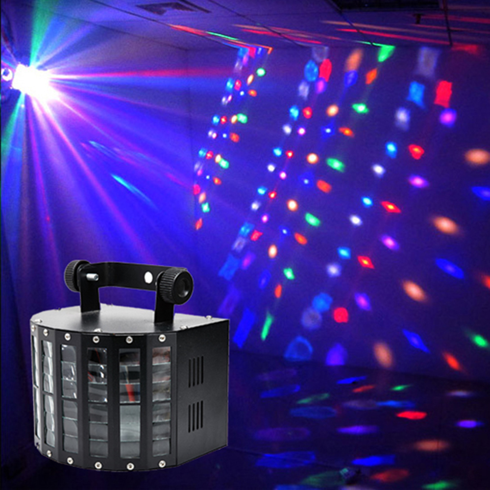 Sound Activated DMX Control RGBW LED Stage Light For Disco Party DJ Beam Light Music Show Laser Projector Lighting Effect(China (Mainland))