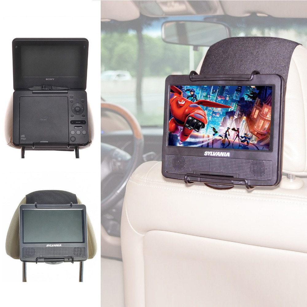 TFY Universal Car Headrest Mount Holder for 7 -10 inch Portable DVD Player(China (Mainland))