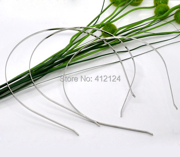 Free Shipping 150 Pcs Wholesale New DIY Silver Tone Headbands Hair Band Charms Fashion Jewelry Findings Component 14.5x12.5cm<br><br>Aliexpress