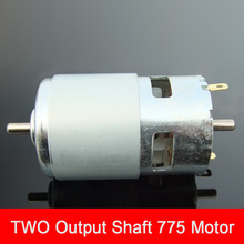 Buy Double Shaft 775 DC Motor Ball Bearing Motor Power Saw Bench Drill Grinding Machine Two Shafts Motor for $18.77 in AliExpress store