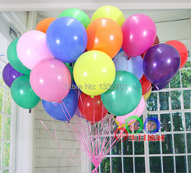 HOT selling 100pcs/lot 10inch 1.2g/pc latex balloon Pearl latex ballons Wedding Party Birthday Baloon transparent globos(China (Mainland))