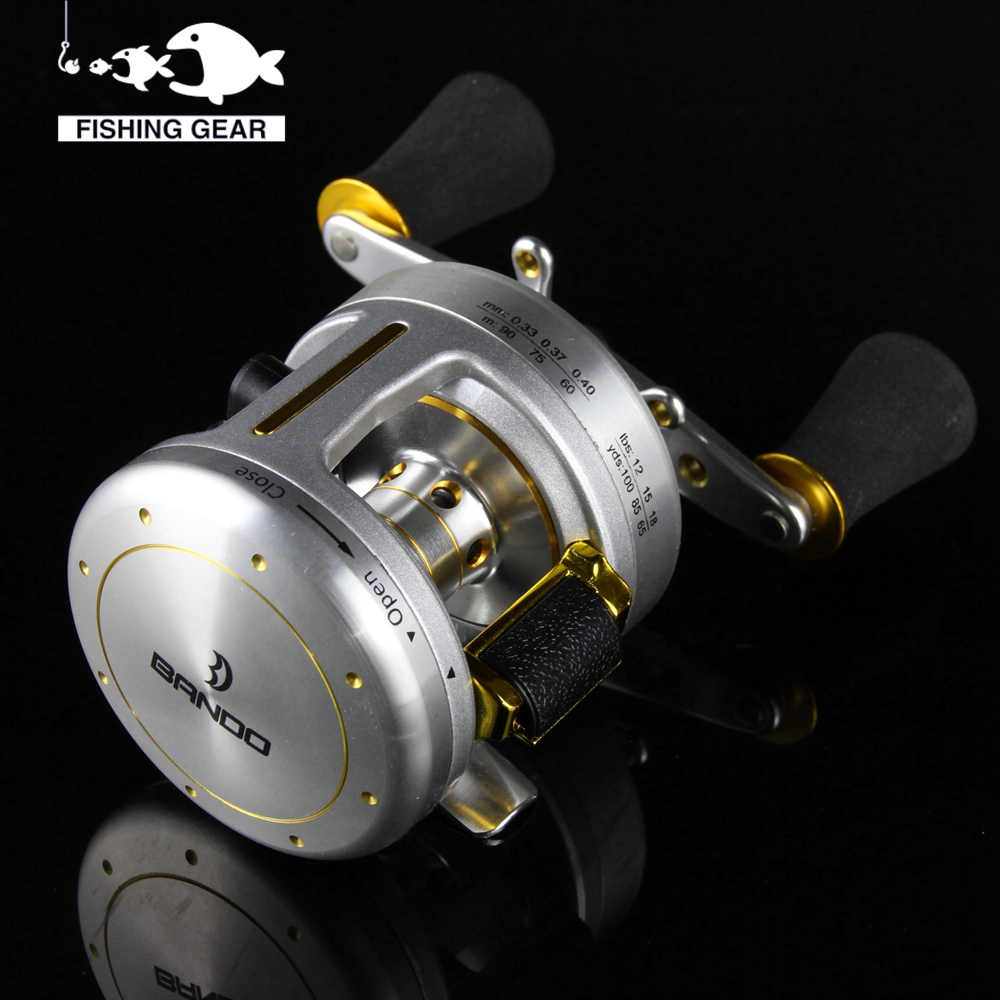 Cheap drum saltwater reel right hand cast drum reel for for Discount fishing reels