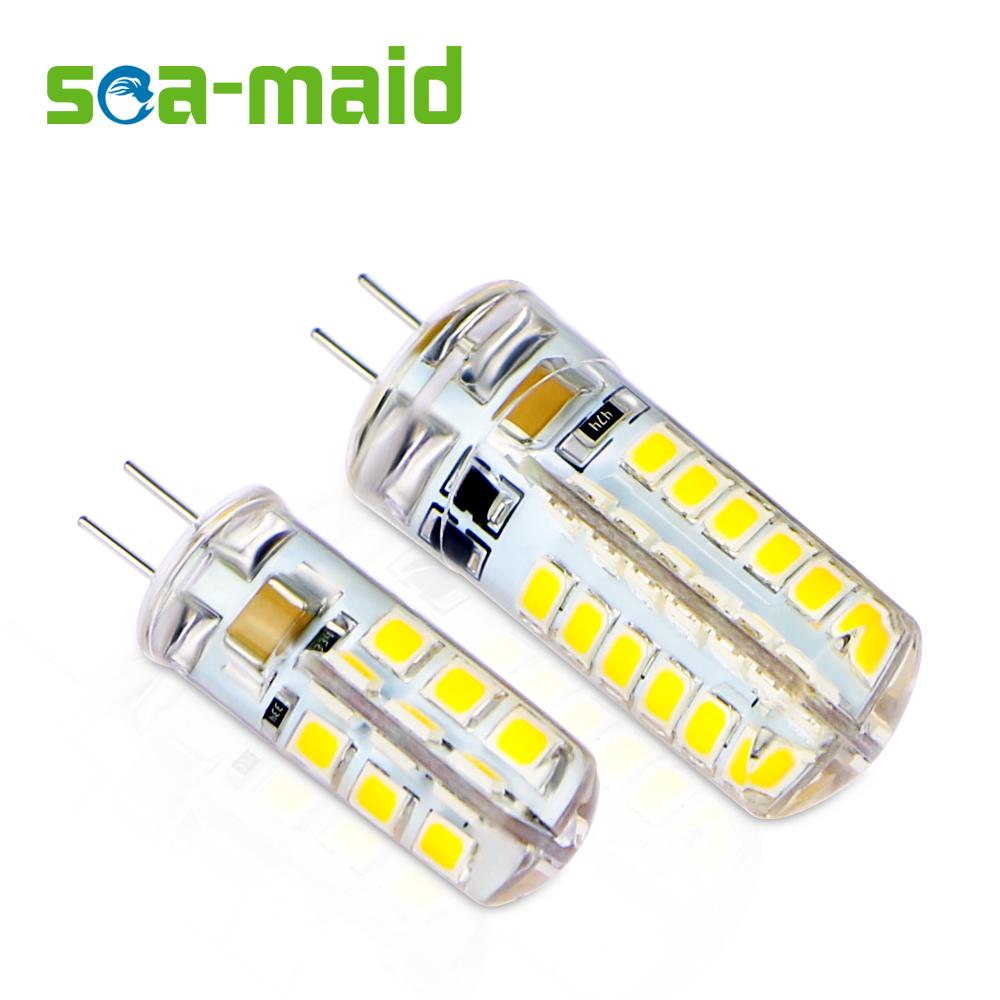 10PCS Energy Saving 220V LED Lamp bulb Replace 7W 12W 15W 20W 25W 30W Fluorescent Light 2835 LED 24 48 SMD G4 LEDs lampada led(China (Mainland))