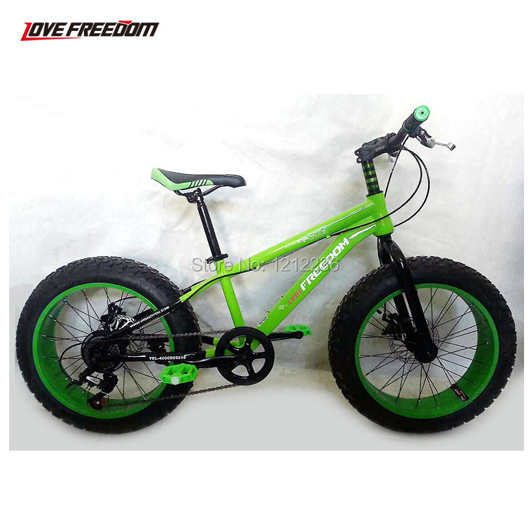 Bikes With Big Tires For Kids X Cool Kid Green Big Tyre