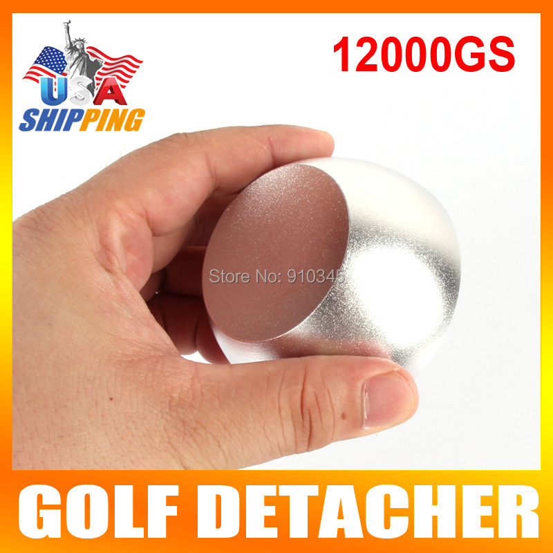 US Stock To USA Golf Detacher Security Tag Remover Magnetic Force 12000GS The Hard Detacher Eas System(China (Mainland))
