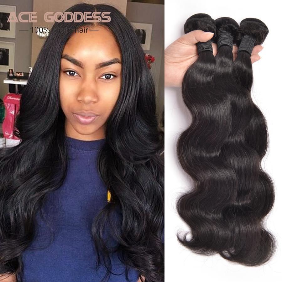 Brazilian Body Wave 3 Bundles Mink Brazilian Virgin Hair