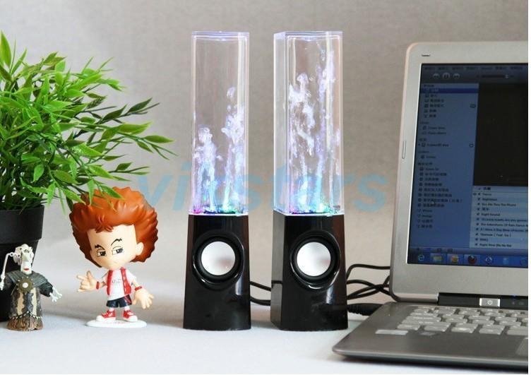Genuine new USB Water Spray Mini Speaker Water Speaker Music Fountain USB Water Spray Speakers music fountain speaker(China (Mainland))
