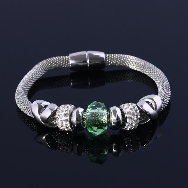 2016 новых прибыть 10 цветное стекло бусины приспосабливать браслет для женщины любят ...