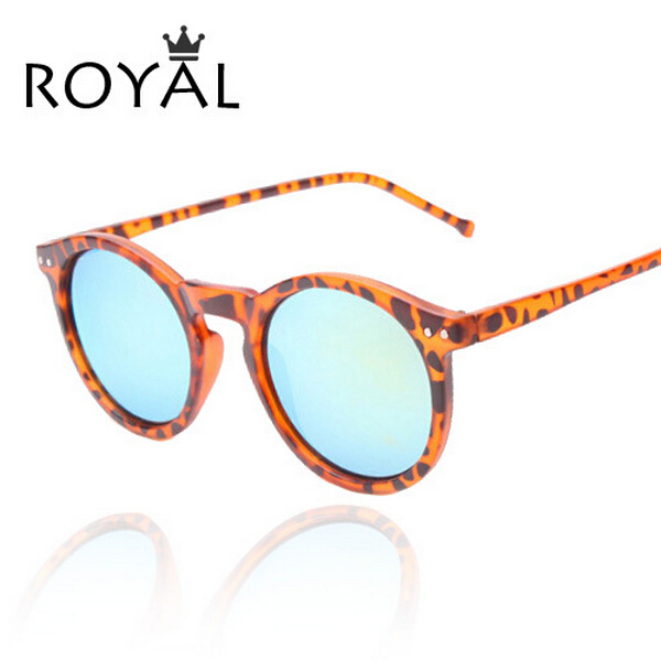 2015 New Sunglasses women Classic Round Shaped Sun Shades glasses Mirrored Gradient Sun Glasses ss013