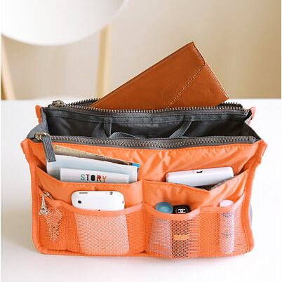 10 Colors Foldable Storage Bags Multifunction Multi-pocket makeup bags handbags women famous brand bolsas femininas(China (Mainland))