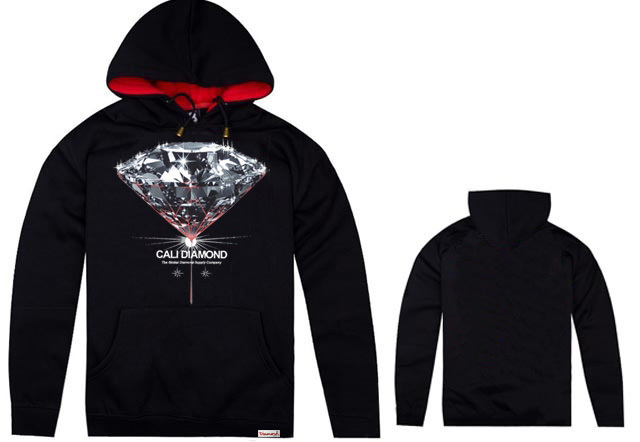 Diamond Supply CO men's Hoodies hip hop autumn winter high fashion brand cheap full Hoodies fleece print mans set of head cloth(China (Mainland))
