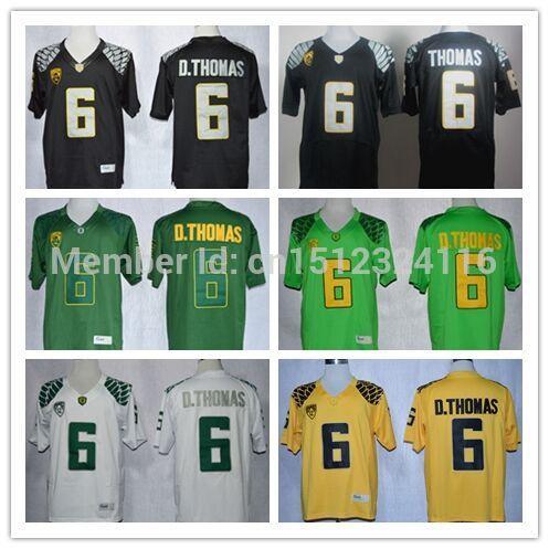 6 De'Anthony jersey throwback Custom American Oregon Ducks jersey cheap stitched college football jerseys M-XXXL NCAA white(China (Mainland))