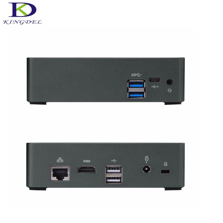 Best selling Micro PC desktop computer Core i7 6500U Dual Core,Intel HD Graphics 520, HDMI 4K,USB3.0,LAN,Mini PC Windows 10(Hong Kong)