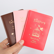 Simple Temperament, Pu Passport Holder Passport Bag Creative Sets Of Documents, Travel Documents Package