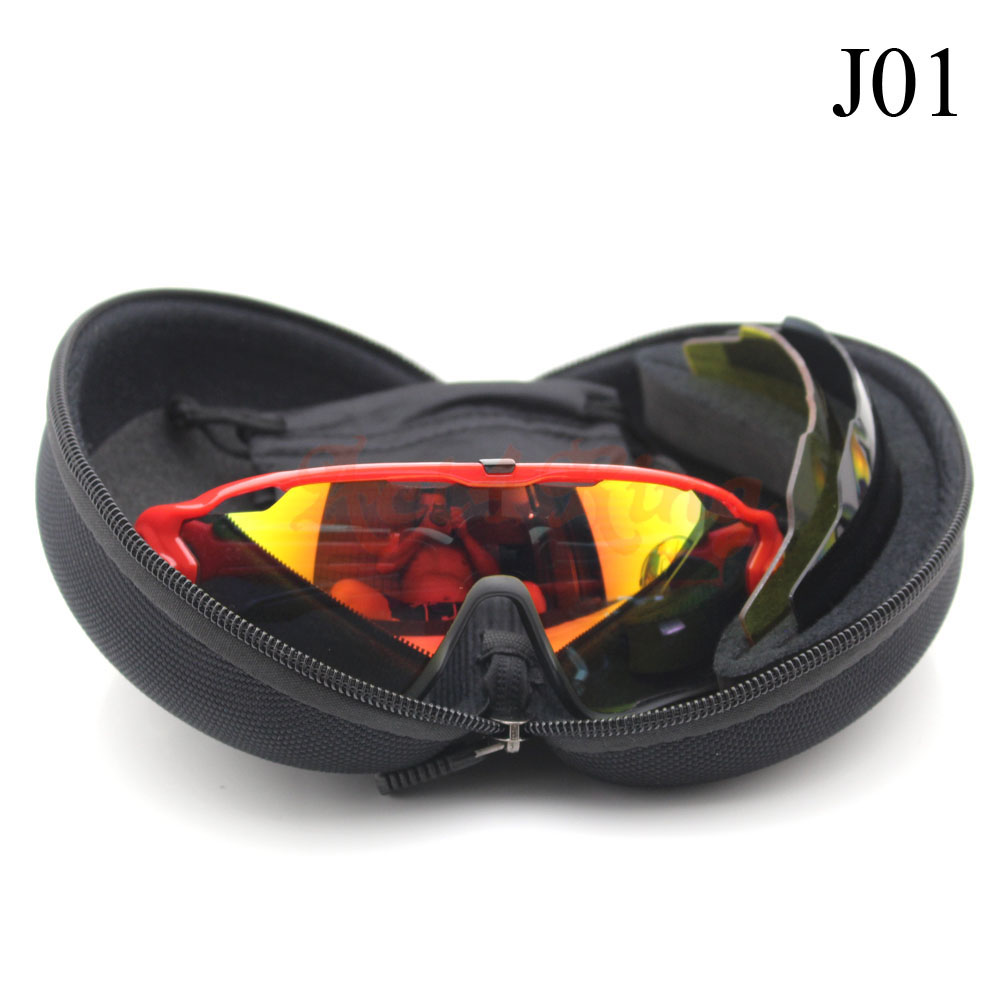 Brand New Men's Women's Polarized Jawbreaker Sunglasses Eyewear Outdoor Sport UV400 Goggle Sun Glasses(China (Mainland))