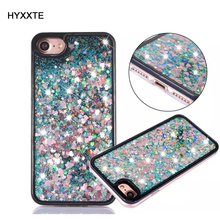 Buy HYXXTE Dynamic Moving Liquid Glitter Sand Case Apple iphone 6 6S 7 Plus Luxury Shell 3D Bling Quicksand Star Hard Back Cover for $2.81 in AliExpress store